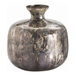 Arteriors - Arteriors Marbled Vase - Hand Finished - Material: Glass*Arteriors collaborates with expert artisans and manufacturers from around the world.