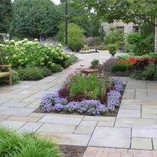 Planning a courtyard in an odd spot - Building a Home Forum - GardenWeb