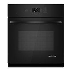 "Jenn-Air 27"" Single Electric Wall Oven, Black On Black | JJW2427WB - 3.4 CU FT OVEN CAPACITY"