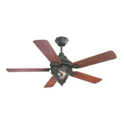 Savoy House - Monticello Outdoor Ceiling Fan by Savoy House - Built in the American tradition design, the Savoy House