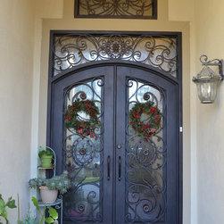 Cedar Bluff, Laguna Hills, Front doors, Side gate, Staircase Railings -