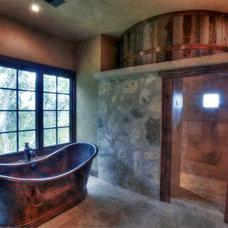 Rustic Bathtubs by Casa Castillo
