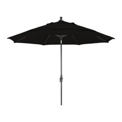 None - Ultra Premium Sunbrella 11-foot Patio Umbrella (5 Colors) - Create shade anywhere you need it with this ultra-premium 11-foot patio umbrella by Sunbrella. Unmatched in both quality and performance, this umbrella is designed to deliver superior sun blocking performance.