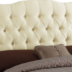 Skyline Furniture - Diamond Tufted Upholstered Headboard by Skyline Furniture - You will love this upholstered headboard. It will be so comfy to sit up against at night and read a novel or watch TV.