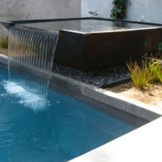 Contemporary Outdoor Fountains And Ponds by CJ's Home Decor & Fireplaces