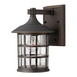 Hinkley Lighting - Hinkley Lighting 1800OZ-GU24 Freeport Bronze Outdoor Wall Sconce - Hinkley Lighting 1800OZ-GU24 Freeport Bronze Outdoor Wall Sconce