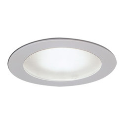 """Nora Lighting - Nora NL-426 4"""" Flat Frosted Lens with Reflector - 4"""" Flat Frosted Lens with Reflector"""