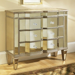 PULASKI Furniture - Marquis Accent Chest - 917062 - Panels placed between drawers maintain a dust-free environment