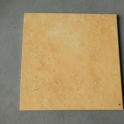 """Giallo Reale Porcelain Tiles - We have 576 boxes available, each box contains 12 pieces of Giallo Reale 12"""" x 12"""" x 1/4"""" matte. On sale for $42 per box. A pink colored porcelain great for floors. You can request a sample, the cost of shipping will be charged to you. Please contact us at dawn@smioftexas.com for other quantities."""