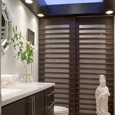 Contemporary Powder Room by Ramos Design Build Corporation - Tampa