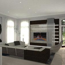 Rendering by Pepe Calderin Design- Modern Interior Design