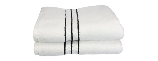 """Hotel Collection Bath Towels, Black, Set of 2 - These ultra-soft towels create a spa experience. Treat yourself to this lush, beautiful towel set for an easy way to revitalize your bath decor. This towel can also be found in various other colors. Set includes two bath towels 30""""x55"""" each."""