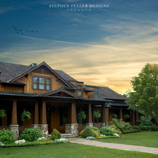 Craftsman Exterior by Stephen Fuller Designs