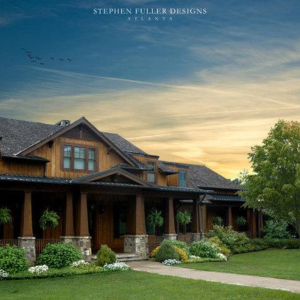 Craftsman Exterior by Stephen Fuller Designs