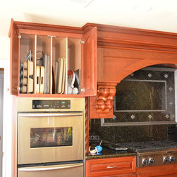 KITCHEN CABINET TRAY DIVIDER - Call us for an estimate!