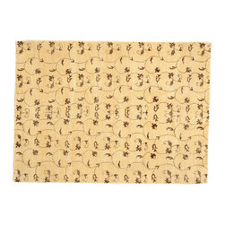 1800-Get-A-Rug - Transitional Modern Beige Hand Knotted Rug Oriental Rug Sh12654 - About Modern & Contemporary
