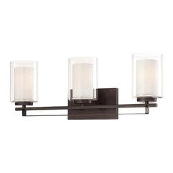 Minka-Lavery - Minka-Lavery Parsons Studio 3-Light Bath - 6103-172 - Illumination