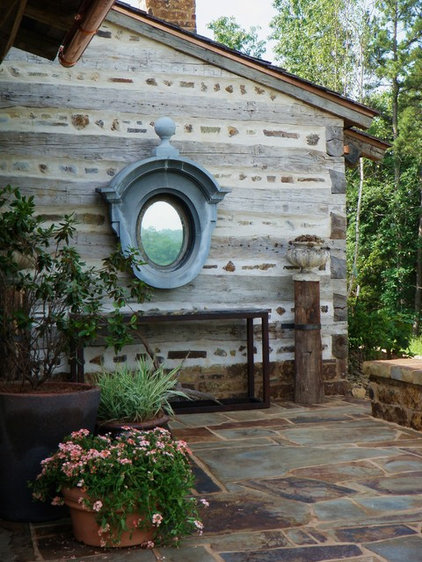 Rustic Entry by DK Design