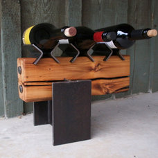 eclectic wine racks by unitetwodesign.com