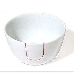 "Kahla - Five Senses Touch! Red Small Serving Bowl (Set of 6) - Enjoyable company, the right ingredients, and sensible but beautiful tableware simply go together. Five Senses is a versatile porcelain concept for todays kitchen and table. Sensuous and with an eye-catching form, this modern dinnerware is sensible and surprisingly functional. Perfect for serving just one as well as your most anticipated dinner parties, the Five Senses collection boasts extraordinary cups, plates, dishes and more. These modern classics take porcelain dinnerware to a new level of gourmet preparation and presentation. Be touched--and enjoy the soft side to porcelain. Because in the shape of Touch! KAHLA is presenting the first porcelain in the world with a velvety soft surface. Sensuous and fluffy, it offers an unique feel of well-being day after day. The innovative material has been tested and perfected to withstand daily runs through your dishwasher. Five Senses Awards: -IDEA (Industrial Design Excellence Award) USA 2004 -iF Design Award (Hanover) -Good Design Award (Chicago) 2003 -Auszeichnung beim Designpreis Thüringen 2003 -Good Design Award (Japan) 2003 -Form 2003 -reddot design award 2002 -DDC-Preis 2002 Deutscher Designer Club -Form 2001 Features: -Microwave safe -Dishwasher safe -Freezer safe -Overall Dimensions: 5.5"" W"