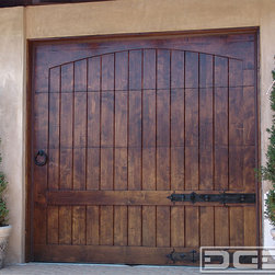 Dynamic Garage Door California Dream 07 A Rustic Alder