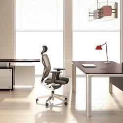 Yi C executive desk -