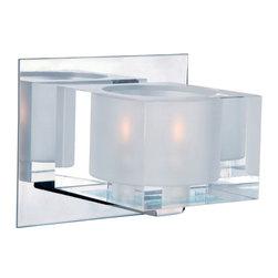 Maxim Lighting 10001CLPC Cubic 1-Light Bath Vanity - Product Highlights