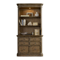 Hooker - Hooker Solana Lateral File with Hutch - Hooker Furniture Solana Lateral File with Hutch 5291-10466/10417