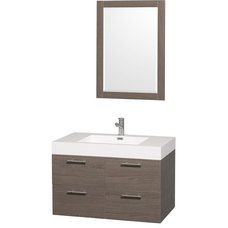 Beach Style Bathroom Vanities And Sink Consoles by Luxvanity