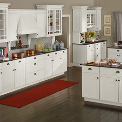 Rutledge™ - Rutledge™ door style in Alpine White enamel paint finish.