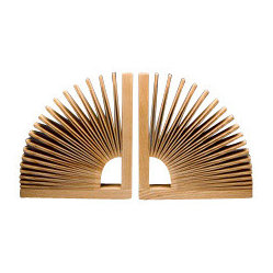 Abanico Bookends