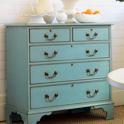 Litchfield Chest - This painted chest is from Somerset Bay. You could also try painting your own existing dresser with one of the popular chalk and wax paints.