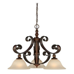 Jeremiah Lighting - Jeremiah Lighting 28072 Seville 3 Light Large Pendant - Jeremiah Lighting 3 Light Full Sized Pendant from the Seville CollectionFeatures: