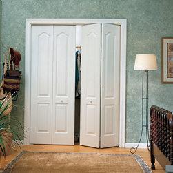 Bi-fold Interior Doors - 2 Panel Archtop Bi-fold Beauty