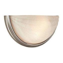 Access Lighting - Access Lighting 20635-SAT/ALB Crest Modern Wall Sconce - Satin - Access Lighting 20635-SAT/ALB Crest Modern Wall Sconce In Satin