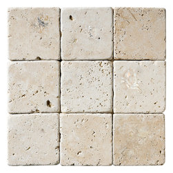 Ivory Cl Tumbled Tile - Ivory Cl Tumbled