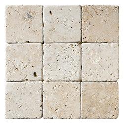 Ivory Classic Tumbled Tile - Ivory Classic Tumbled