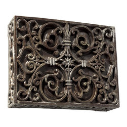Craftmade - Craftmade Hand-Carved Scroll Door Bell and Wireless Chime X-CR-WBAC - Carved box - Renaissance;- wireless chime