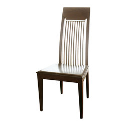 Rossetto - Mirage Wenge Chair - Features: