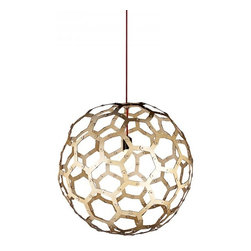 ParrotUncle - Soccer Ball Wooden Designer Modern Pendant Lighting - Soccer Ball Wooden Designer Modern Pendant Lighting