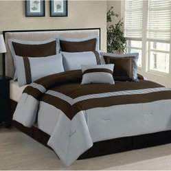 Luxury Home Ileana 8-Piece Comforter Set