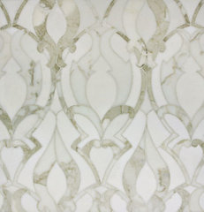 traditional kitchen tile by Rebekah Zaveloff