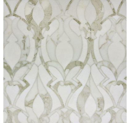 Traditional Mosaic Tile by Rebekah Zaveloff | KitchenLab