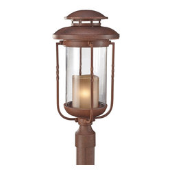 Murray Feiss - Murray Feiss Menlo Park Transitional Outdoor Post Lantern Light X-NC8029LO - Murray Feiss Menlo Park Transitional Outdoor Post Lantern Light X-NC8029LO