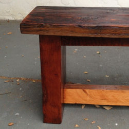 Dining Table Bench - Reclaimed Wood -