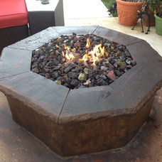 Eclectic Fire Pits by Theme Designs