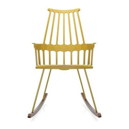 Kartell - Comback Rocking Chair - Quick Ship | Kartell - Design by Patricia Urquiola.
