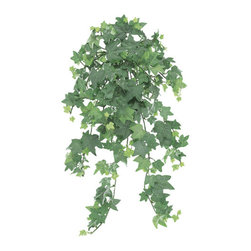 Silk Plants Direct - Silk Plants Direct Mini English Ivy Hanging Plant (Pack of 12) - Silk Plants Direct specializes in manufacturing, design and supply of the most life-like, premium quality artificial plants, trees, flowers, arrangements, topiaries and containers for home, office and commercial use. Our Mini English Ivy Hanging Plant includes the following: