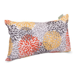 Outdoor Citrus Blooms Small Pillow