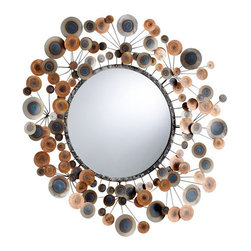 Cyan Design - Cyan Design 05115 Lucca Rounded Mirror - Features:
